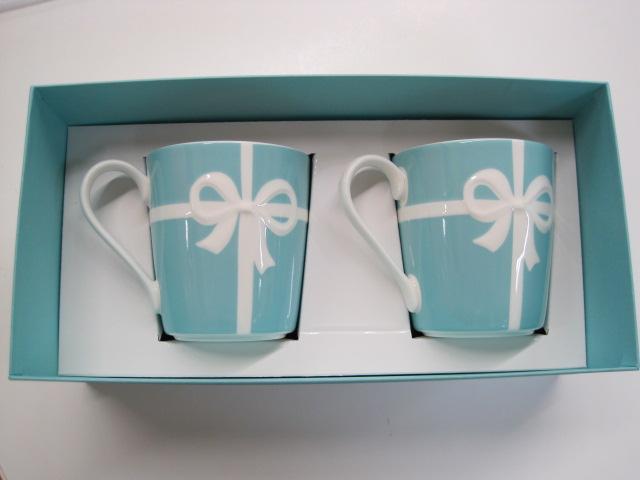 ティファニー・マグカップセットです。 こちらは箱有りの物になります(・...  イープレシャス